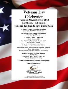 Veterans Day Celebration 2014